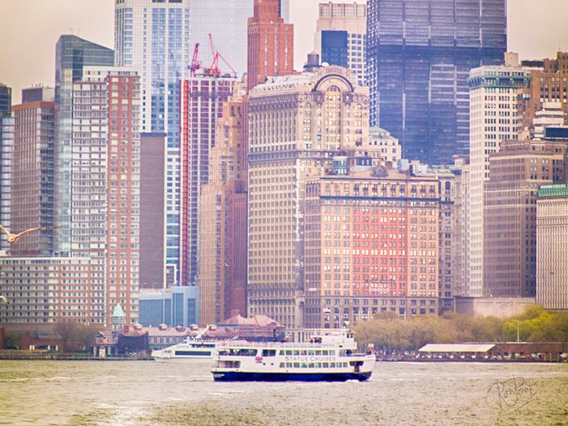 Ferry to Manhattan